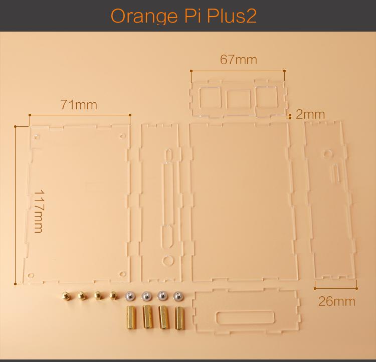 Vỏ Orange Pi Plus 2